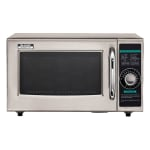 Sharp R-21LCFS 1000w Commercial Microwave w/ Dial Control, 120v