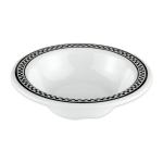"GET B-454-X 4.75"" Round Cereal Bowl w/ 4.5-oz Capacity, Melamine, White"
