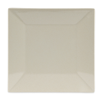 """GET BAM-1104 10"""" Square Dinner Plate, Melamine, Beige"""