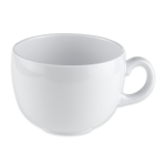 GET C-1001-W 18 oz Coffee Mug, Melamine, White