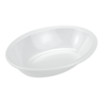 "GET DN-332-W Oval Serving Bowl w/ 32-oz Capacity, 10"" x 7.25"", Melamine, White"