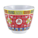 GET M-077C-L 5.5-oz Tea Cup, Melamine, White