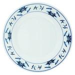 """GET M-5050-B 8"""" Round Salad Plate, Melamine, White"""