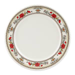 "GET M-5090-CG 10.5"" Round Dinner Plate, Melamine, White"