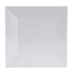 "GET ML-102-W 6"" Square Dessert Plate, Melamine, White"