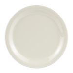 "GET NP-7-DI 7.25"" Round Salad Plate, Melamine, Ivory"
