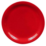 "GET NP-7-RSP 7.25"" Round Salad Plate, Melamine, Red"