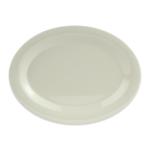 "GET OP-950-DI Oval Serving Platter, 9.75"" x 7.25"", Melamine, White"