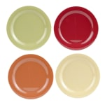 "GET SP-NP-10-COMBO (4) 10.5"" Round Dinner Plate, Melamine, Multi-Colored"