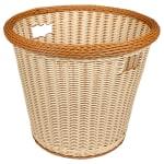 "GET WB-1523-TT 17"" Round Bread Basket, Polypropylene, Two-Tone"