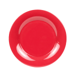 "GET WP-12-CR 12"" Round Dinner Plate, Melamine, Cranberry"