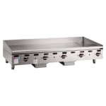 """Wolf AGM72 72"""" Gas Griddle - Manual, 1"""" Steel Plate, NG"""