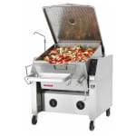 Market Forge 30P-STGM Tilting Skillet, 30-Gallon Capacity, Manual Tilt Mechanism, NG