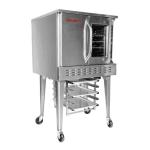 Market Forge 8300 Deep Depth Gas Convection Oven, NG