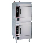 Market Forge ALTAIR II-8 Electric Floor Model Steamer w/ (8) Full Size Pan Capacity, 240v/1ph