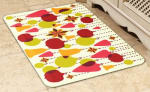 Wellness Mats 32SC124H Holiday Pattern Decorative Mat Cover, 3 x 2-ft, Holiday Ornament-2