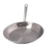 "Spring USA 8186-60/20 8"" Stainless Steel Frying Pan w/ Solid Metal Handle"