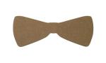 """Epicurean 032-BTIE0301 Hipster Bow Tie Cutting Board, 22x9x.25"""", Nutmeg"""