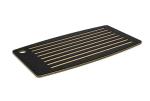 """Epicurean 024-18100201 Bread Cutting Board, 18x10"""", Slate/Natural"""