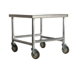 """Amana CA24 Cart w/ Casters, Stainless Top & Aluminum Frame, 24 x 26 x 26"""" D"""