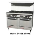 """Southbend S48AC 48"""" 8-Burner Gas Range, LP"""