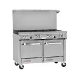 """Southbend S48EE 48"""" 8 Burner Gas Range, LP"""