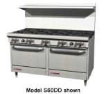 """Southbend S60AC 60"""" 10-Burner Gas Range, NG"""