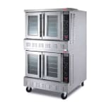 Lang GCOF-AP2 Double Full Size Gas Convection Oven - LP