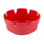 "Update AST-4RD 4 1/4"" Bakelite Round Ash Tray - Red"