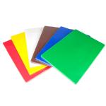 Update CBS-1218 Cutting Board Set w/ (6) Assorted Colors, Polyethylene