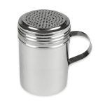 Update DR-10 10 oz Dredge/Shaker with Handle - Stainless