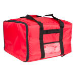 "Update PIB-2013 Update International™ Pizza Delivery Bag - 20"" x 20"" x 13"", Red"