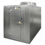 Norlake KLB7466-C R Indoor Walk-In Refrigerator w/ Top Mount Compressor, 6' x 6', No Floor