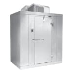 Norlake KLB7468-C L Indoor Walk-In Refrigerator w/ Top Mount Compressor, 6' x 8', No Floor