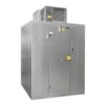 Norlake KLF77612-C Indoor Walk-In Freezer w/ Top Mount Compressor, 6' x 12'