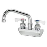 """Krowne 14-406L Low Lead Royal Series Faucet, Splash Mount, 6"""" Long, 4"""" Center"""