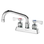 "Krowne 15-306L Low Lead Royal Series Faucet, Deck Mount, 4"" Centers, 6"" Long"