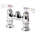 "Krowne 15-4XXL Low Lead Raised Deck Mounted Faucet w/ 4"" Center"