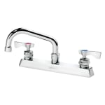 "Krowne 15-506L Low Lead Royal Series Faucet, 6"" Long, Swing Nozzle, 8"" Center"