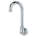 "Krowne 16-140L Low Lead Royal Series Faucet w/ 3 1/2"" W Gooseneck Spout, 1 Hole"