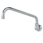 "Krowne 16-143L Low Lead Royal Series Splash Mount Faucet w/ 10"" Spout, 1-Hole"