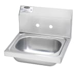 "Krowne HS-2-LF Wall Mount Commercial Hand Sink w/ 12.5""L x 9.75""W x 5.87""D Bowl"