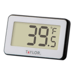 Taylor 1443 Compact Digital Thermometer w/ LCD Readout, 4 to 140 F Degrees
