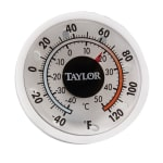 Taylor 5380N Window Wall Thermometer w/ Adhesive Mount, -40 to 120F