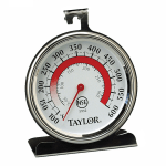 "Taylor 5932 Oven Thermometer w/ 3"" Dial Face, 100 to 600 F Degrees"