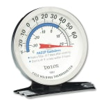 Taylor 5981N Refrigerator Freezer Dial Thermometer, -20 to 80 F Degrees