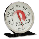 """Taylor 5995N Oven Thermometer w/ 3"""" Dial Display, 200 to 500 Degree Capacity"""