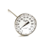 Taylor 8238J Pocket Thermometer, 3-Point Calibration, 0 to 250 C Degrees