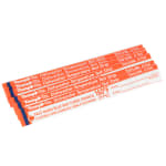 Taylor 8766 Dishwasher Temperature Test Strips, 160 F Degrees