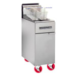 American Range AF-35/50 Gas Fryer - (1) 50 lb Vat, Floor Model, NG